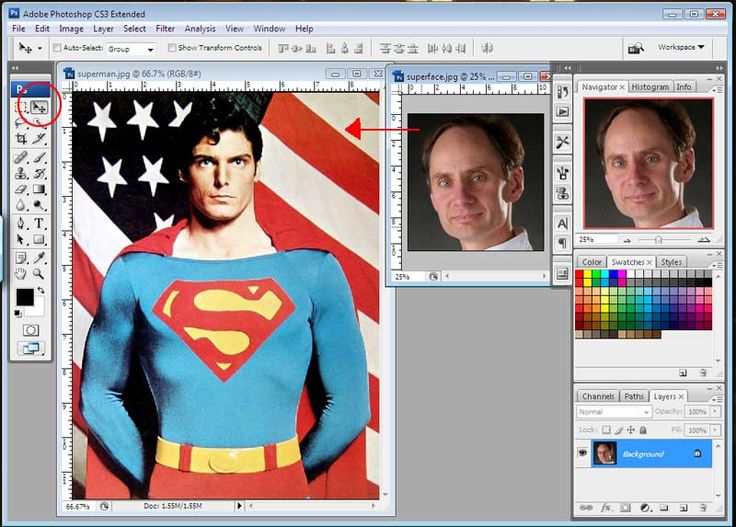 Photoshop lesson plan: Replacing Faces