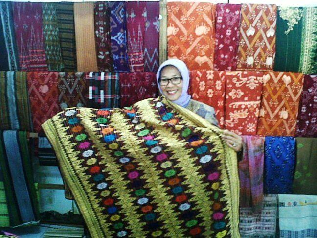 Ikat from Mataram-NTB, Indonesia