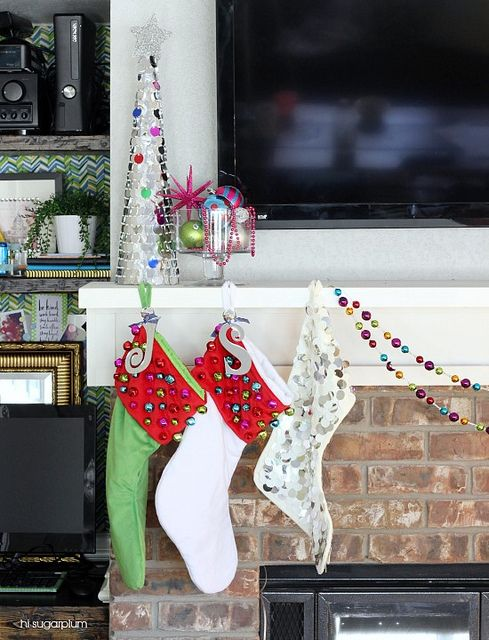 Stockings With Names On Them Part - 40: 225 Best Christmas Stocking And Tree Skirt DIY Images On Pinterest   Tree  Skirts, Christmas Ideas And Holiday Ideas
