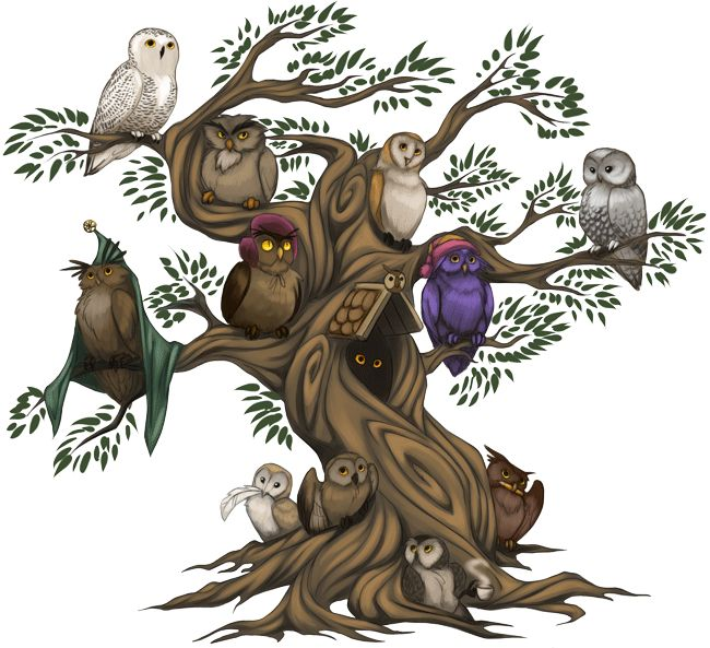 WTF COBA 2014 - Совиное дерево, авт. saviti