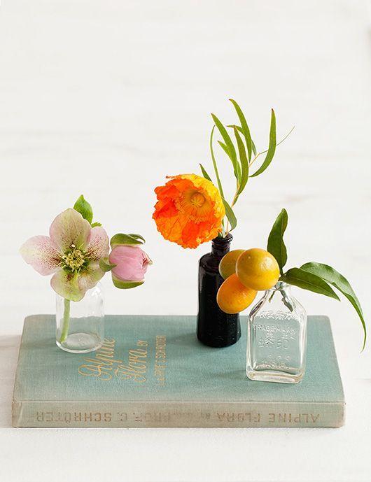 Stylisme base fleurs