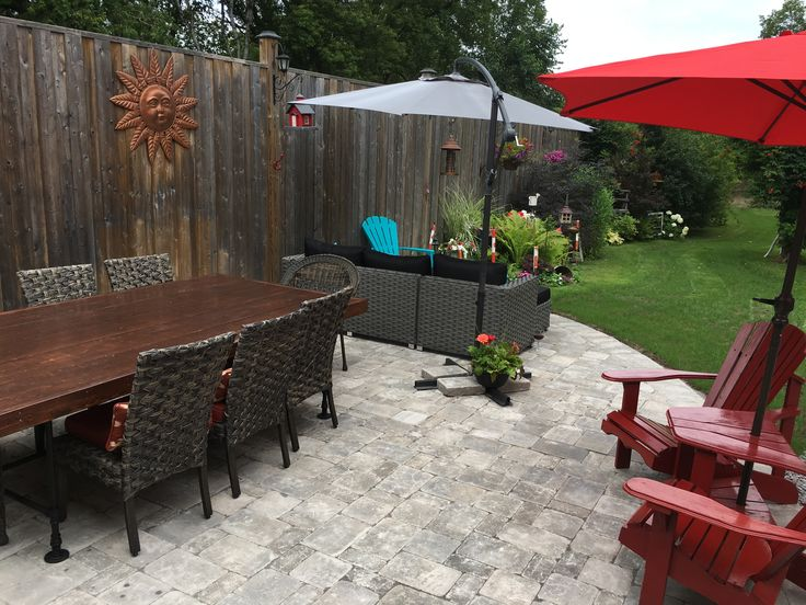 Our patio is amazing