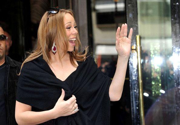 Mariah Carey Photos - Mariah Carey and Nick Cannon Out in Paris - Zimbio