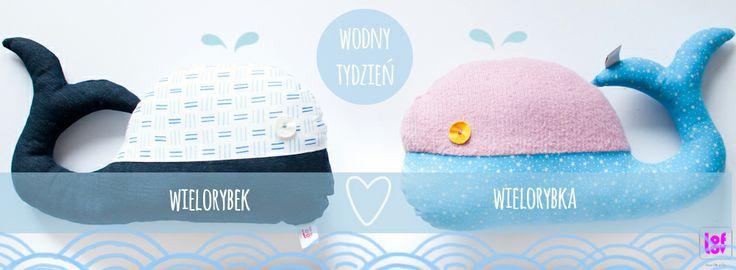 sea love:)  Mr Whale & Mrs Whale #softies #whale #marine #sea #toys www.facebook.com/loflov