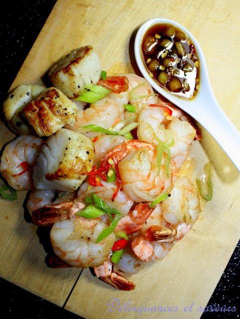 Délinquances et saveurs: Crevettes au miel et gingembre