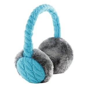 KitSound Audio Earmuffs Chunky Cable Knit for iPhone: Amazon.co.uk: Electronics