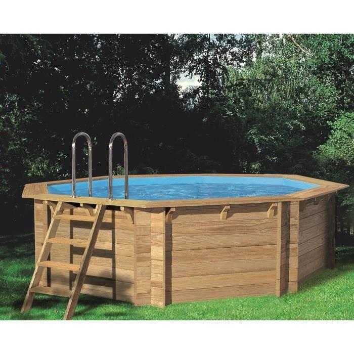 Principales 25 ideas incre bles sobre piscine octogonale en pinterest pisci - Piscine bois cdiscount ...