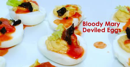 Bloody Mary Deviled Eggs? These bite-sized wonders pack tang, salt and ...