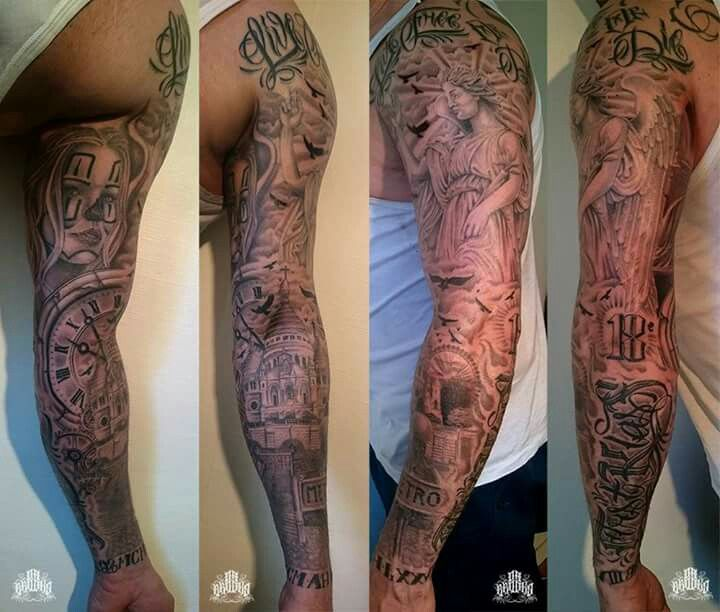 347 Best Images About Full Tattoo On Pinterest: 17 Best Ideas About Full Arm Tattoos On Pinterest