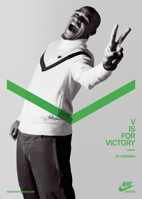 Nike Advertising V Is For Victory Sport
