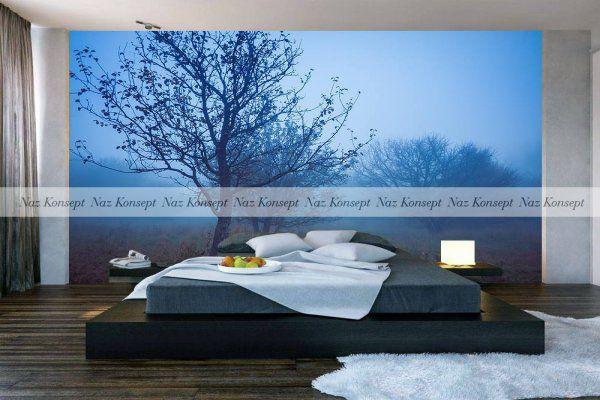 3D Yatak Odası Duvar Kağıdı 08