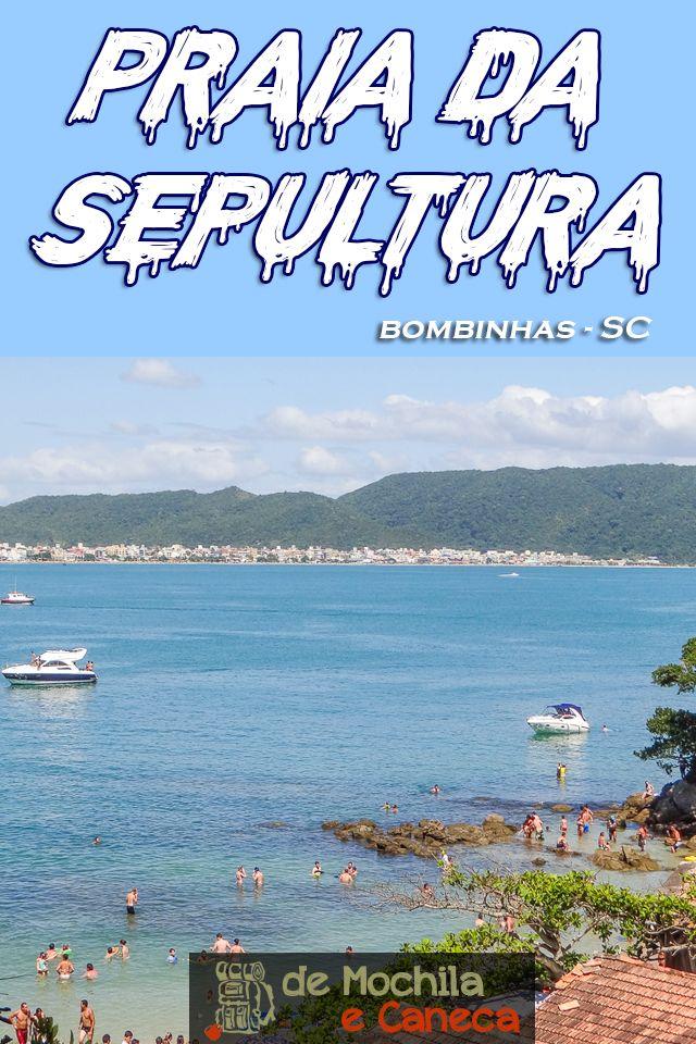 Praia Da Sepultura Uma Das Praias Mais Bonitas Do Sul Do Brasil
