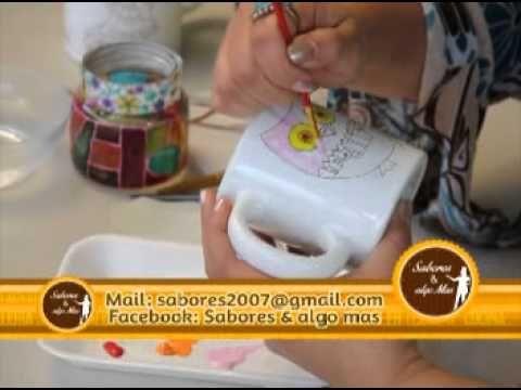 M s de 1000 ideas sobre como pintar ceramica en pinterest - Pintar sobre barniz ...