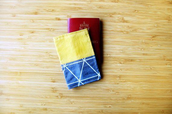 Passport cover geometric travel passport holder by FindingNorth