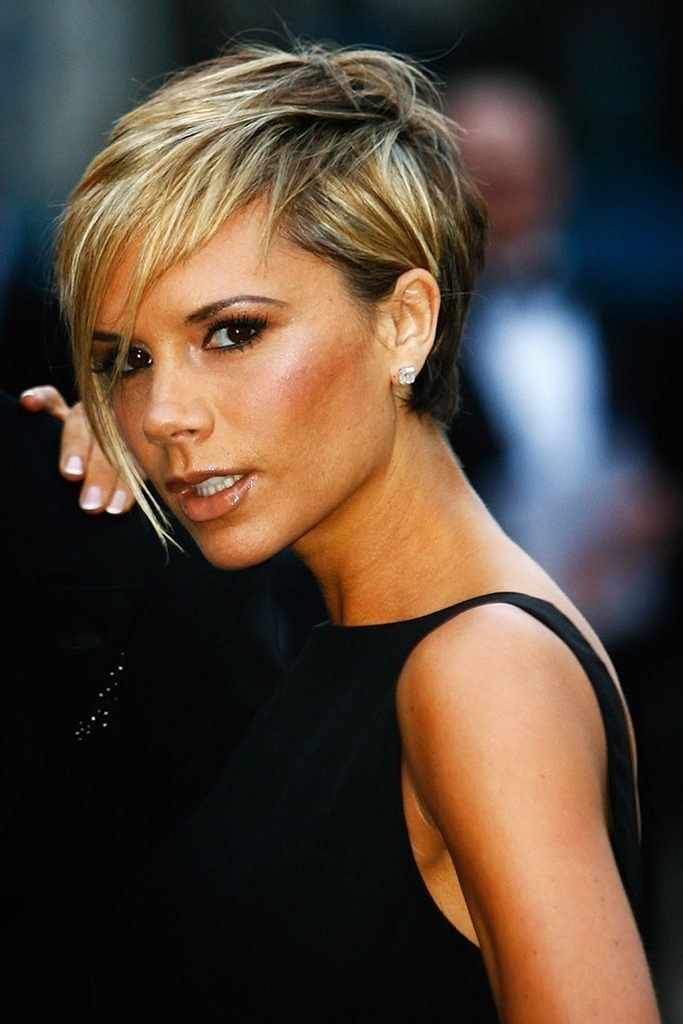 New Look Beckham Frisur Victoria Beckham Frisur Kurzhaarschnitte