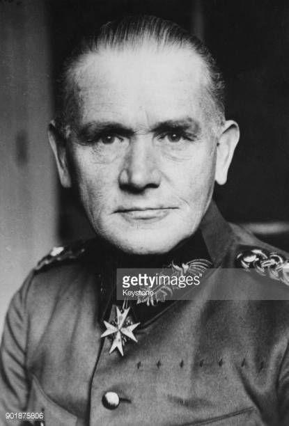 01-06 General Werner Von Blomberg (1878 - 1946) of the German... #blomberg: 01-06 General Werner Von Blomberg (1878 - 1946) of… #blomberg