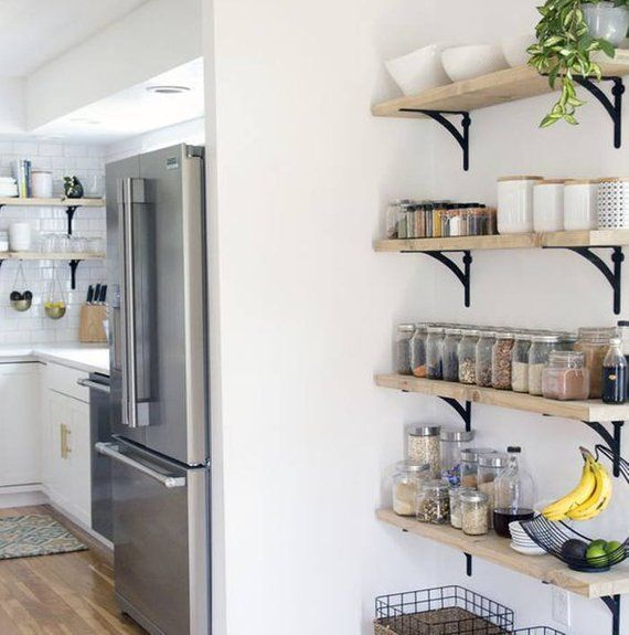 9 25 Deep Rustic Farmhouse Floating Shelf Bathroom Kitchen
