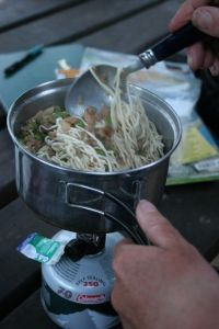 The variety of food you can cook on your trek is endless - if you know how.