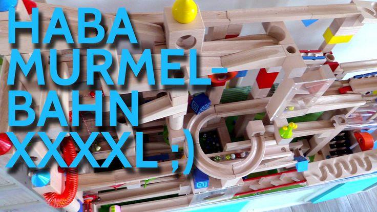 Haba Murmelbahn Spieltisch, Haba Kugelbahn XXL