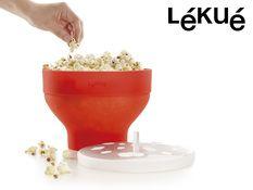 Gave til ham - Lékué Popcorn Mikroskål  , Ligesom grydepoppede, men i mikroen!