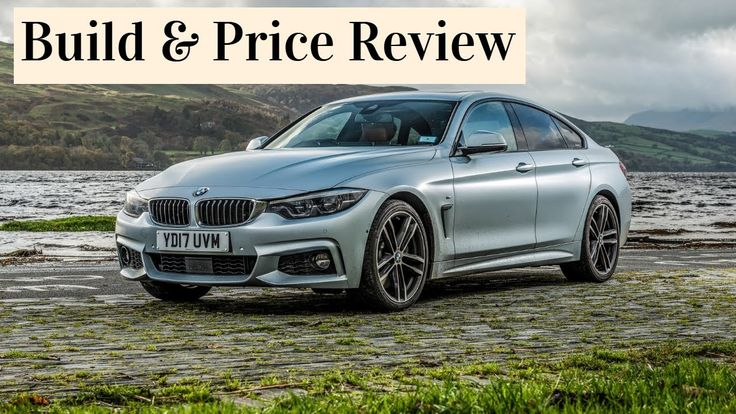 2020 BMW 440i xDrive Gran Coupe w/M Sport Package Build