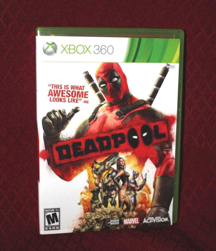 Deadpool Xbox 360 Complete CIB Tested Marvel Activision M-Rated