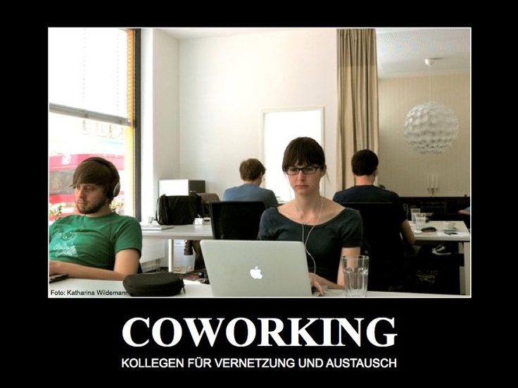 Coworking... :: (with foto by Katharina Wildemann)