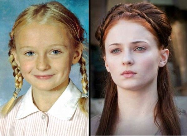 Sophie Turner (Sansa Stark) - The 'Game of Thrones' Cast Then and Now - Zimbio