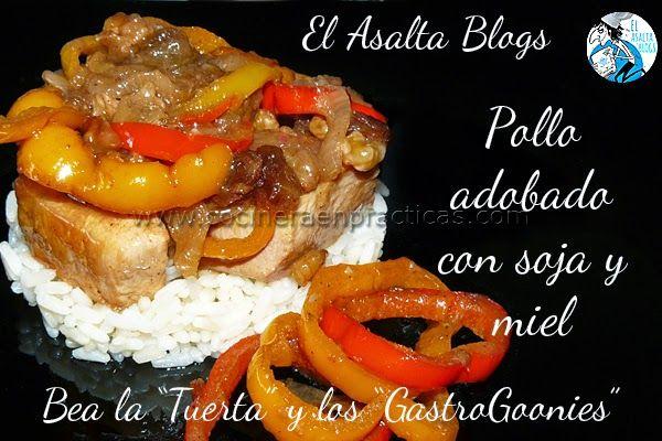 EL ASALTA BLOGS: Pollo adobado con soja y miel