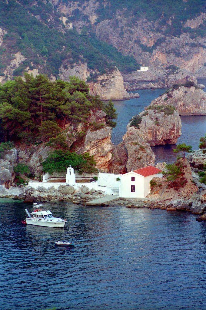 (août 1993 Préveza, Grèce) Parga