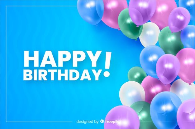 Download Happy Birthday Background Free Birthday Card Happy Birthday Template Birthday Card Template Free