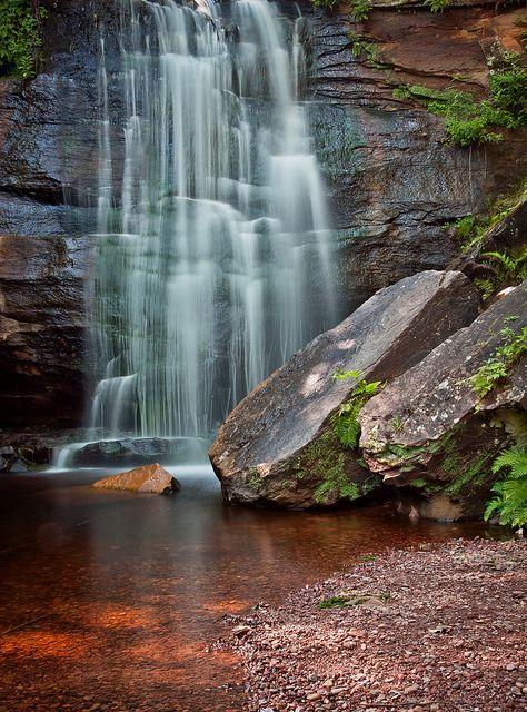 Hungarian Falls Nature Area, Keweenaw Land Trust, Michigan