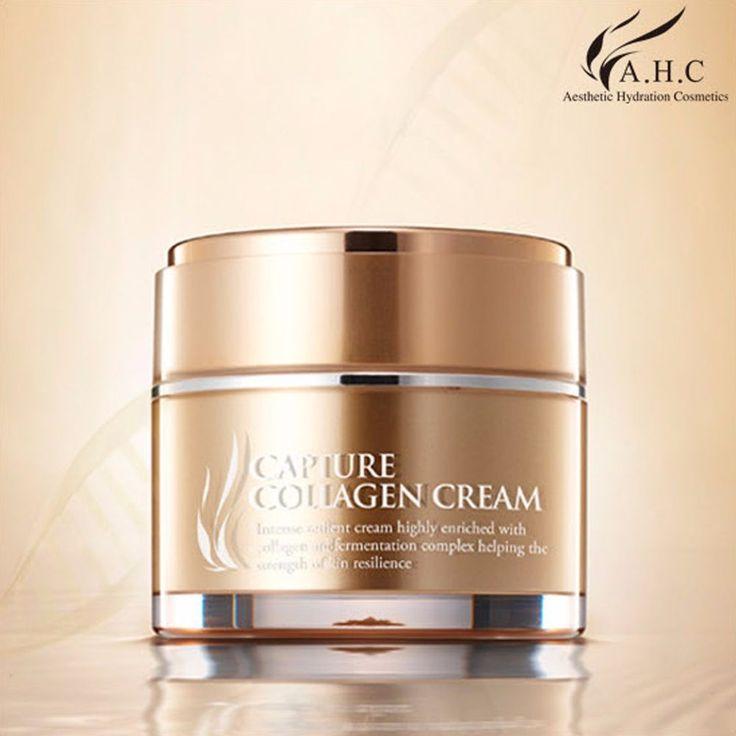 AHC Nourishing Capture Collagen Cream Whitening Wrinkle Care 1.69oz #AHC