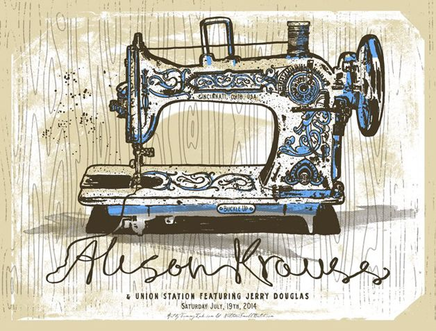Alison Krauss event #poster Design from TOMMYINK
