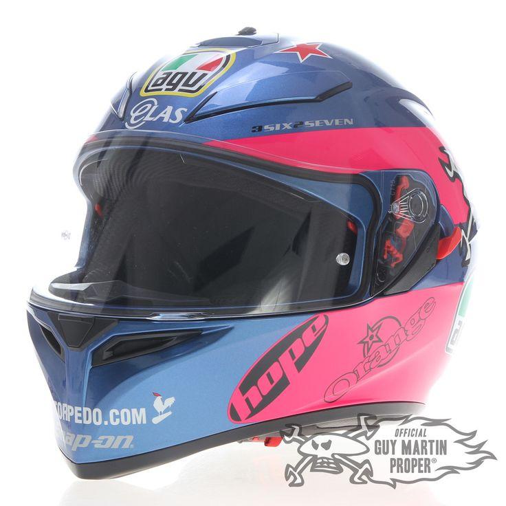 Pre Order for September 2015 - Guy Martin Britten Replica Helmet Plus | Guy Martin Proper | Officially Endorsed Merchandise