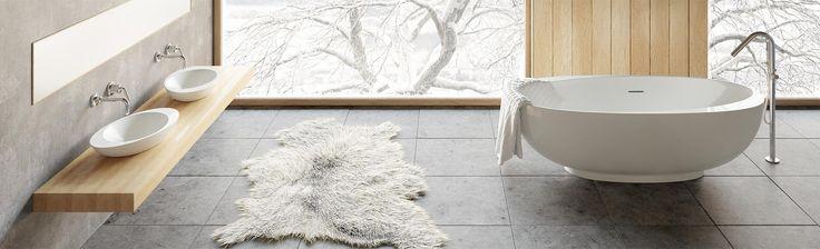 Exkluzív szabadonálló kádak a Marmorintól, kollekcióban is! AMOS  #marmorin #exclusive #bathtube #bathroom #bath #design #freedom #beauty #white #minimal #style #amos #collection #idea