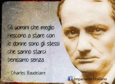 Charles Baudelaire Uomini con le donne e senza aforisma