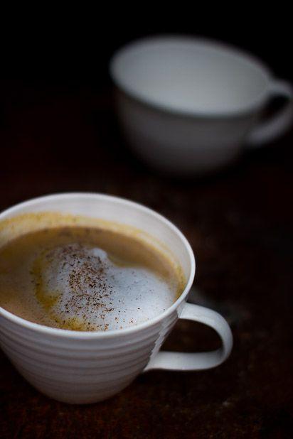 Pumpkin spiced latte. http://www.jotainmaukasta.fi/2013/10/04/kahvihammasta-kolottaa/