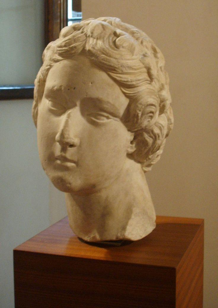 Opera del duomo (FI), Tino di Camaino, personificazione di virtù (1320 circa) 03 - Tino di Camaino - Wikipedia