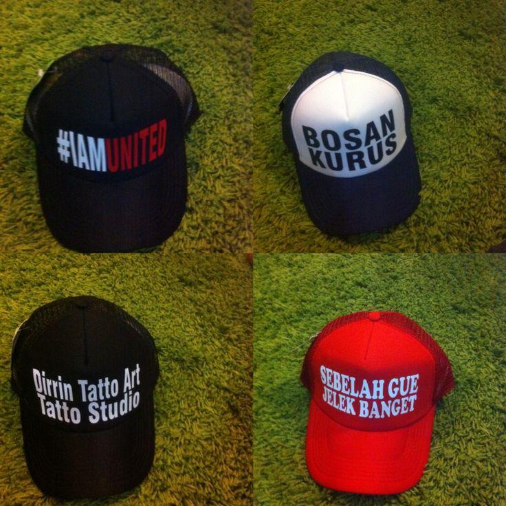 Cara pesan Trucker Custom Hat   Whatsapp : 081376202725 Line : frankymanrung BBM : 51E5C105 Ig : thepop_girl   http://bit.ly/1IRrS2Y  Berbagi kebahagian dengan topi trucker custom