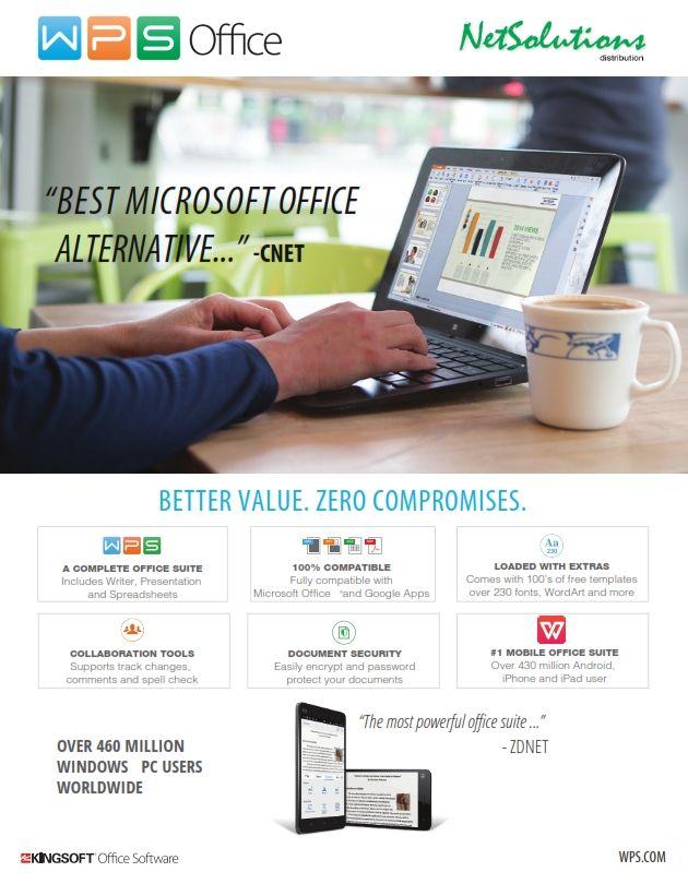 PT. #Netsolutions Infonet #WPS Office Best Microsoft Office Alternative