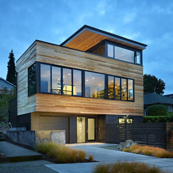 excellent modern houses design. exterior project cycle house Modern Refuge for an Active Couple  Cycle House in Seattle by chadbourne doss architects 2118 best Architecture images on Pinterest houses