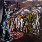 """The opening of the fifth seal. """"El Greco"""": Photos, Web Gallery, Art, El Greco"""