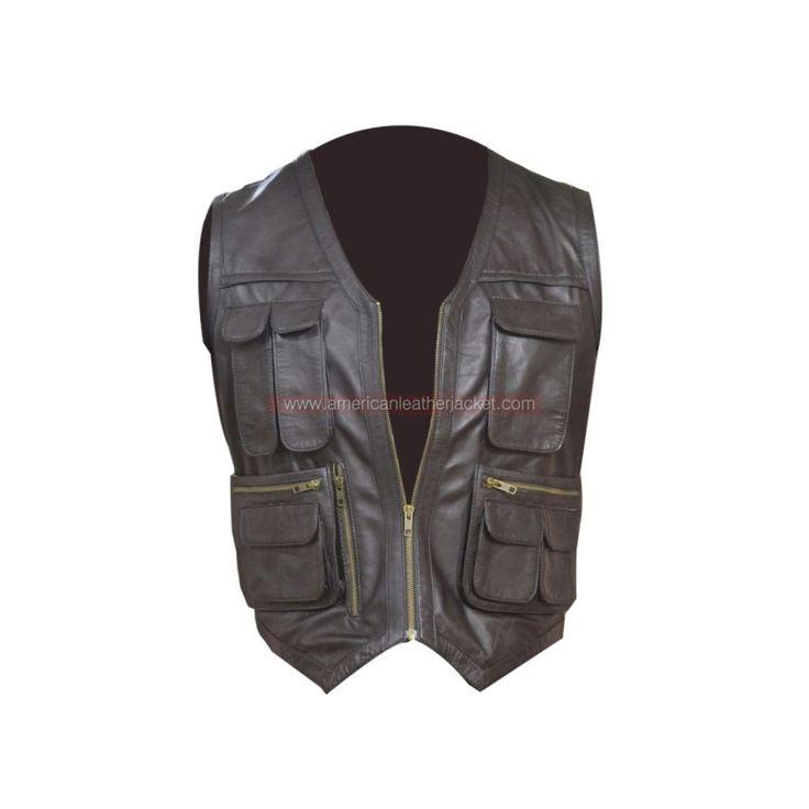 Jurassic World Chris Pratt Owen Vest | American Leather Jacket Store