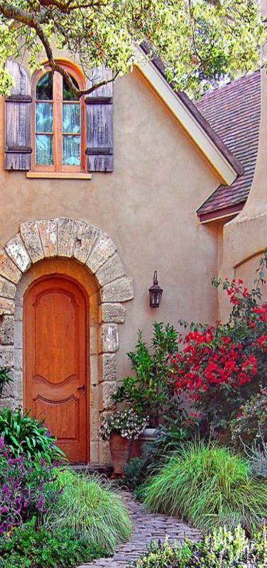 Once-Upon-A-Time | The fairytale cottages of Carmel-by-the-Sea | California, USA | by Linda Yvonne