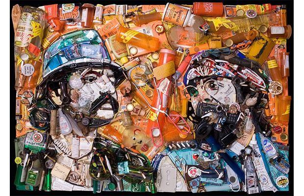 Jason Mecier Çöp Sanatı
