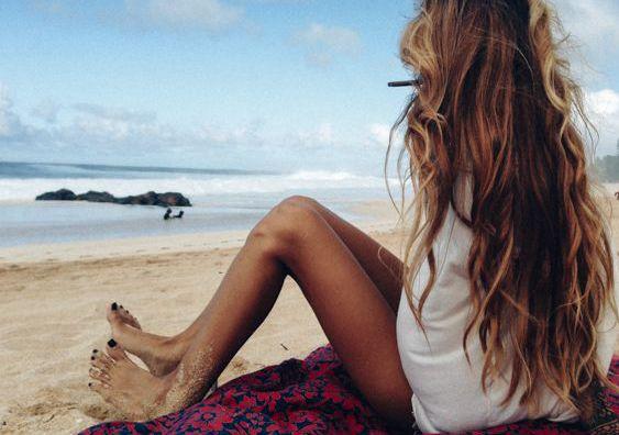Κυματιστά μαλλιά παραλίας