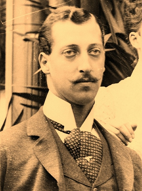 HRH Prince Albert Victor, Duke of Clarence & Avondale--He died of influenza and his brother George became king.