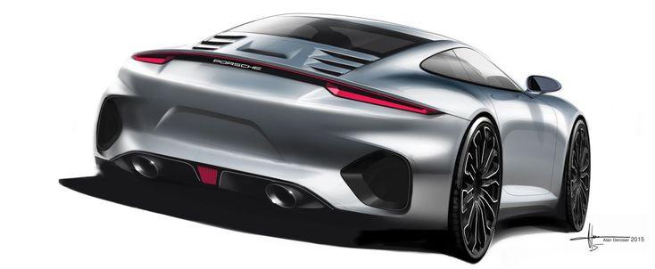 Alan Derosier - Transportation design: Porsche 911 992