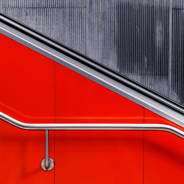 COLORED ARCHITECTURE - Munich, Germany based photographer Nick Frank finds his inspiration everywhere, internet, television, the subway, etc. His favorite subject is architecture photography. He's always able to find out the right angles and shoot with wide-angle lenses.